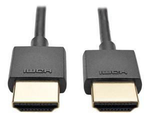 Tripp Lite 3 ft. Hi-Speed HDMI Cable with Ethernet Digital (M/M), UHD 4K x 2K, Slim 3' (P569-003-SLIM)
