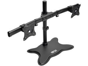 "TRIPP LITE DDR1327SDD Black 13"" - 27"" Dual-Monitor Desktop Mount Stand for Flat-Screen Displays"