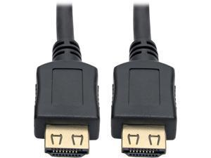 Tripp Lite High-Speed HDMI Cable w/ Gripping Connectors 4K M/M Black 3ft (P568-003-BK-GRP)
