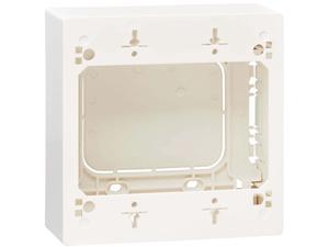 Tripp Lite N080-SMB2-WH Double-Gang Surface-Mount Back Box, White, TAA