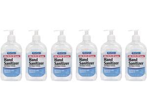 XtraCare Hand Sanitizer, 16.9 oz. (500 ml.) Bottle, 6 Pack - Total 101.4 oz.