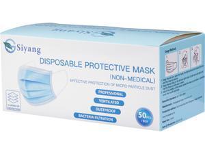 Siyang Disposable Face Mask, 50pcs per box
