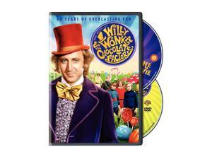 WILLY WONKA & THE CHOCOLATE FACTORY-40TH ANNIVERSARY (DVD)