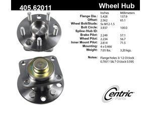 CENTRIC PARTS 405.62011E Hub/Bearing Assembly