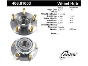 CENTRIC PARTS 406.61003 Hub/Bearing Assembly