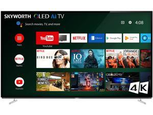 """Skyworth XA8000 OLED Series 55"""" 4K OLED HDR Android Smart TV with Voice Remote, 55XA8000"""