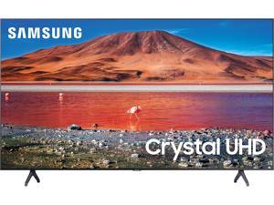 "Samsung 55"" Class TU7000 Series Crystal UHD 4K Smart TV (UN55TU7000FXZA, 2020 Model)"