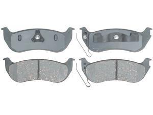 ACDELCO SILVER/ADVANTAGE 14D981CH Rear Brake Pad Set