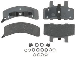 ACDELCO SILVER/ADVANTAGE 14D369CH Front Brake Pad Set