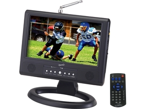 """Supersonic 9"""" Portable Digital TV with ATSC Tuner SC-499"""