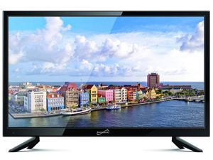 "Supersonic 19"" 1080p LED Widescreen HDTV W/ HDMI Input AC/DC CompatibleSC-1911"