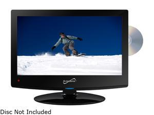 SuperSonic SC-1512 1080p LED Widescreen HDTV with HDMI Input, AC/DC Compatible for RVs and Built-in DVD Player