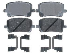 ACDELCO GOLD/PROFESSIONAL 17D923CH Front Brake Pad Set