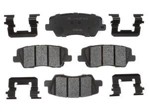 ACDELCO GOLD/PROFESSIONAL 17D1659MH Rear Brake Pad Set