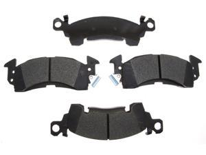 ACDELCO GOLD/PROFESSIONAL 17D52CH Front Brake Pad Set