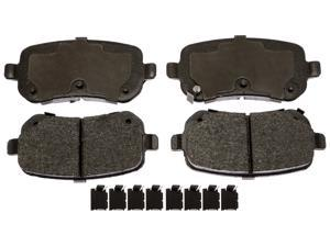 ACDELCO GOLD/PROFESSIONAL 17D1326CHF1 Rear Brake Pad Set