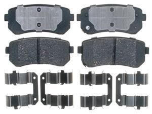 ACDELCO GOLD/PROFESSIONAL 17D1157CH Rear Brake Pad Set
