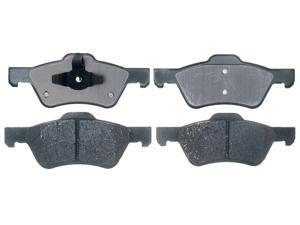 ACDELCO GOLD/PROFESSIONAL 17D1047C Front Brake Pad Set