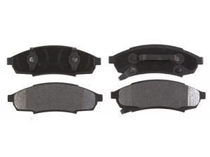 ACDELCO GOLD/PROFESSIONAL 17D376MX Front Brake Pad Set