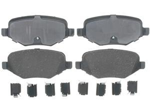 ACDELCO GOLD/PROFESSIONAL 17D1377CH Rear Brake Pad Set