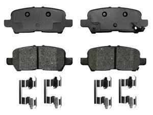 ACDELCO GOLD/PROFESSIONAL 17D999MH Rear Brake Pad Set