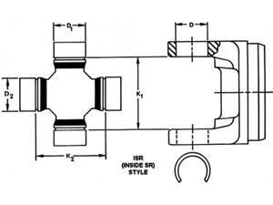 DANA SPICER 5-1515X U-Joint