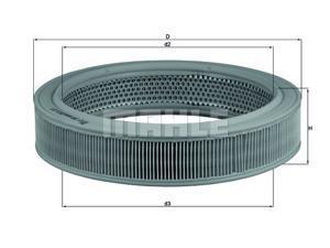 MAHLE ORIGINAL LX 208 Air Filter