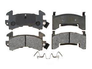 RAYBESTOS MGD154MH Raybestos R-Line Metallic Brake Pad Set