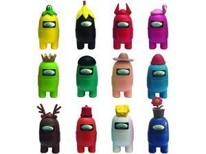 Among Us Toys Action Figures Set   PVC Mini Desk Toys for Among Us Game Fans - 12pcs