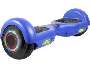 AOB Hoverboard in Blue with Bluetooth Speakers