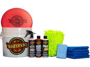 Masterson's Car Care 10 Piece Ultimate Wash & Detail Bucket Kit - Newegg Exclusive - Made in America