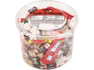 Office Snax 00013 Soft & Chewy Mix, Assorted Soft Candy, 2lb Plastic Tub