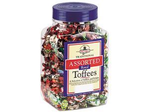 Walker's 94054 Assorted Toffee, 2.75lb Plastic Tub