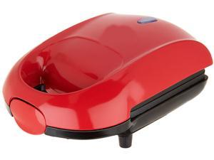 Dash K45920 Red Red Series Hot Pocket Sandwich Maker, Red