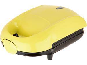 Dash K45920 Yellow Yellow Series Hot Pocket Sandwich Maker, Yellow