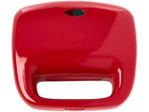 Dash DOM010 Red Red Series Nonstick Omelet Maker, Red