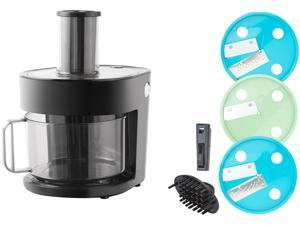 Dash K47971 Series 7-in-1 Food Processor Prep Master, Black