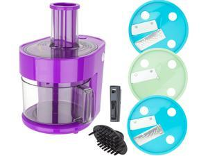 Dash K47971 Series 7-in-1 Food Processor Prep Master, Eggplant