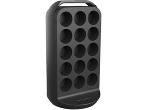 Mind Reader  CRS02-BLK  Black  30 Capacity coffee pod carousel