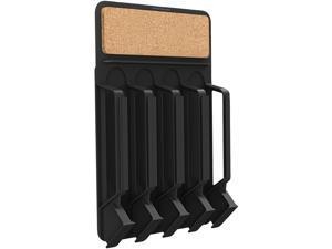 Mind Reader  WMNT-BLK  Black  Fridge/Wall mount coffee pod dispenser with Cork top