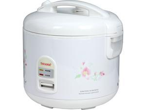 Tayama TRC-10 White Cool Touch Electronic Rice Cooker