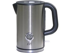 Sunpentown SK-1717 Stainless Steel Cordless Kettle with Temperature Display