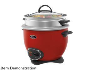OSTER CKSTRCMS14-R-NP Red 14 Cup Rice Cooker