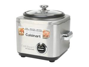 Cuisinart 4-Cup Stainless Steel Rice Cooker CRC-400