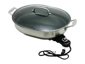 Cuisinart 1500-Watt Nonstick Oval Electric Skillet CSK-150