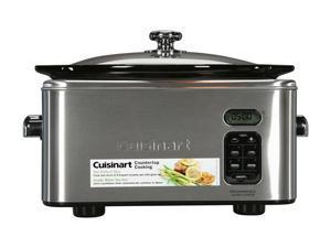 Cuisinart PSC-650 Silver 6.5 Qt. 6.5-Quart Programmable Slow Cooker