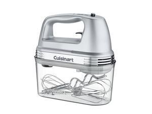 Cuisinart HM-90BCS Power Advantage PLUS 9-Speed Hand Mixer with Storage Case Silver