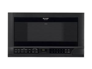 Sharp R-1210 1.5 cu. ft. 1100W Sensor Over-The-Counter Microwave Oven