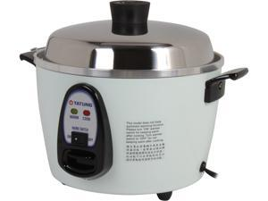 TATUNG Multi-Functional Cooker and Steamer, White, 12 Cups cooked//6 Cups uncooked,TAC-06G(SF)