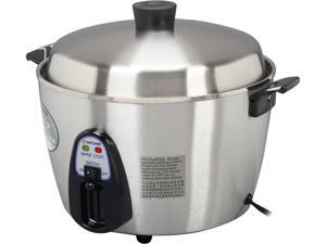 TATUNG Stainless Steel Multi-Functional Rice Cooker and Steamer, 22 Cups cooked/11 Cups uncooked, TAC-11KN(UL)